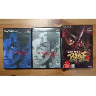 PlayStation2 - PS2 真女神転生 ノクターン マニアクス 3セット