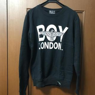 ボーイロンドン(Boy London)のBOY LONDON トレーナー 黒(スウェット)