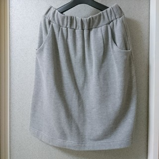 🌼スゥェットタイトスカートLL(ひざ丈スカート)