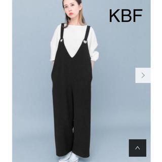 ケービーエフ(KBF)のKBF メタルサロペット【美品】(サロペット/オーバーオール)