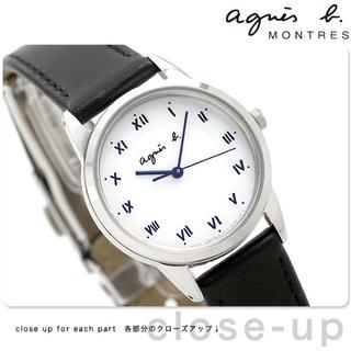 アニエスベー(agnes b.)のアニエスベー 時計 FBSD942  マルチェロ ホワイト×ブラック 腕時計 (腕時計)