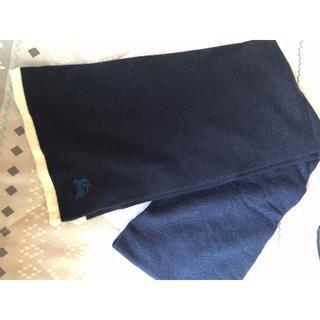 バーバリーブラックレーベル(BURBERRY BLACK LABEL)のBurberry Black Label 数回使用美品マフラー(マフラー)