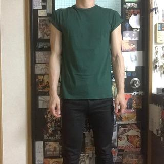 トップマン(TOPMAN)の【美品】TOPMAN(トップマン)のTシャツ Sサイズ(Tシャツ/カットソー(半袖/袖なし))