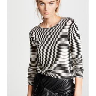 イザベルマラン(Isabel Marant)の新品ISABEL MARANT ETOILE今季ボーダーリネンTシャツ(シャツ/ブラウス(長袖/七分))