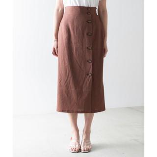 ウィゴー(WEGO)のWEGO リネンスカート(ひざ丈スカート)