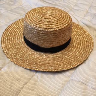レイビームス(Ray BEAMS)のカンカン帽(麦わら帽子/ストローハット)
