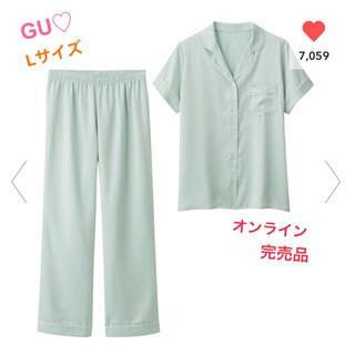 ジーユー(GU)の8/13まで値下げ♡GU♡ジーユー♡パジャマ♡半袖(パジャマ)