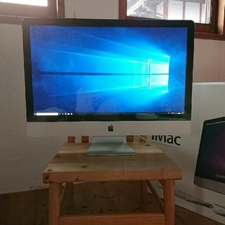 マック(Mac (Apple))の★お勧め★windows10 IMAC27インチ corei7〈001〉(デスクトップ型PC)