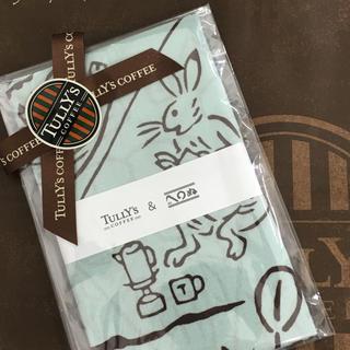 TULLY'S COFFEE - 完売品!タリーズ 鳥獣戯画 手ぬぐい(キャンプ)