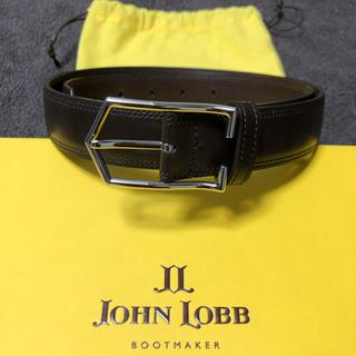 JOHN LOBB - 【極美品】ジョンロブ JOHN LOBB ベルト レザー LASCALA 80