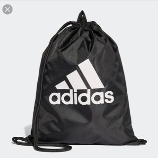 アディダス(adidas)のアディダス ナップサック 黒 (トレーニング用品)