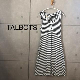 タルボット(TALBOTS)のTALBOTS ノースリーブ ワンピース(ロングワンピース/マキシワンピース)