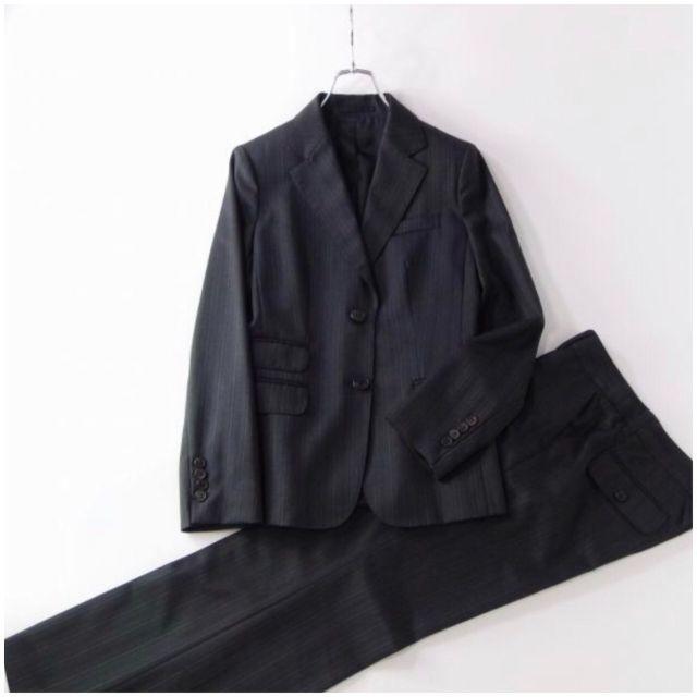 BURBERRY(バーバリー)のBURBERRY LONDON ジャケット パンツスーツ セットアップ 38 レディースのフォーマル/ドレス(スーツ)の商品写真
