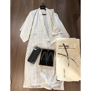 東京ますいわ屋、浴衣、帯、下駄三点セット(浴衣)