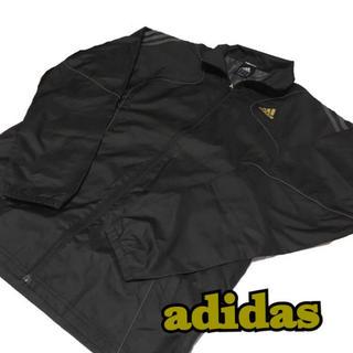 アディダス(adidas)の【adidas】アディダス ジップジャケット スポーツウェアO ブラック(ウェア)