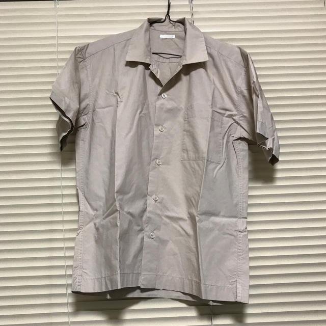 GU(ジーユー)のGU 開襟 オープンカラー シャツ ジーユー 半袖 メンズのトップス(シャツ)の商品写真