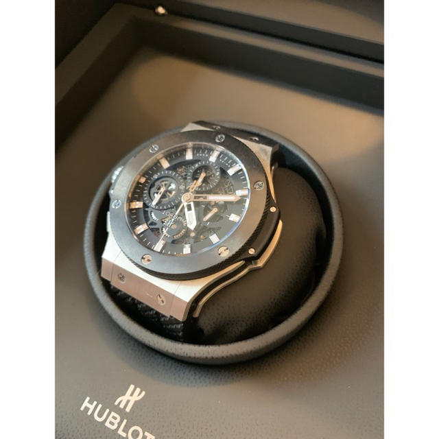 reputable site 19d2a 01793 矢部浩之愛用 HUBLOT ウブロ 美品 腕時計 ビックバン アエロバン