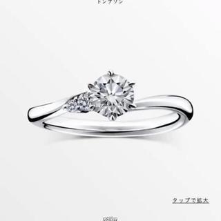 ティファニー(Tiffany & Co.)の【刻印なし極美品】ラザールダイヤモンド 婚約指輪(リング(指輪))