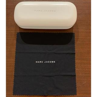 マークジェイコブス(MARC JACOBS)のマークジェイコブス ホワイト メガネケース(サングラス/メガネ)