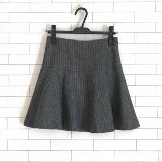 フレームワーク(FRAMeWORK)のミニスカート ストライプ柄 マーメイド 可愛い 美品(ミニスカート)
