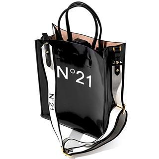 ヌメロヴェントゥーノ(N°21)のN°21 ヌメロヴェントゥーノ ショッパーバッグ ショッピング バッグ 新品(トートバッグ)