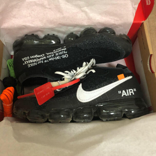 オフホワイト(OFF-WHITE)のoff-white vapormax nike(スニーカー)