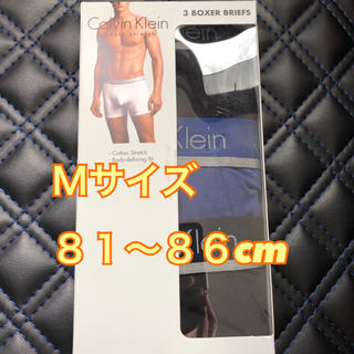カルバンクライン(Calvin Klein)の《新品》カルバンクライン  ボクサーパンツ  Mサイズ  3枚セット(ボクサーパンツ)