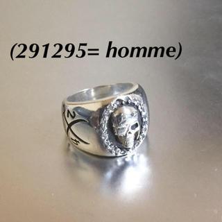 ニーキュウイチニーキュウゴーオム(291295=HOMME)の🔴 291295オム スカル925シルバーリング(リング(指輪))