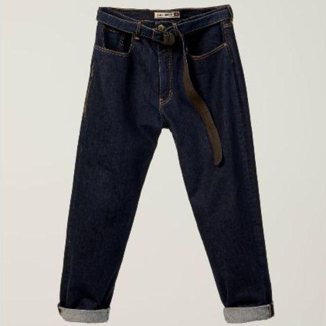 ZARA(ザラ)の新品 完売品 ZARA SRPLS デニム パンツ メンズのパンツ(デニム/ジーンズ)の商品写真