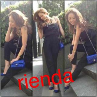 リエンダ(rienda)のリエンダ フリル オールインワン(その他)