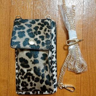 レプシィム(LEPSIM)のLEPSIM 縦型お財布ショルダー(財布)