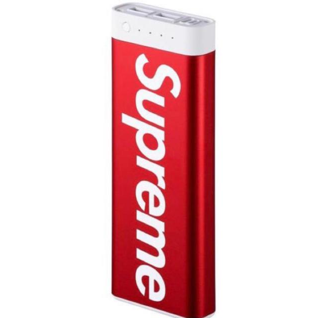 Supreme(シュプリーム)のSupreme mophie encore 20Kシュプリーム20回充電OK スマホ/家電/カメラのスマートフォン/携帯電話(バッテリー/充電器)の商品写真