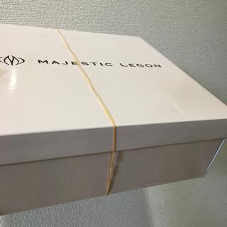マジェスティックレゴン(MAJESTIC LEGON)の新品♡未使用 マジェスティックレゴン サンダル レッド 大幅お値下げ‼️(サンダル)