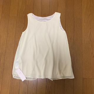 ニジュウサンク(23区)の23区          タンクトップ    サイズ32     (カットソー(半袖/袖なし))