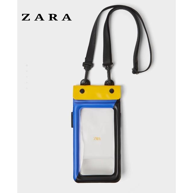 ZARA(ザラ)のZARA ザラ 水中用携帯ケース 防水携帯ケース ビニール携帯ケース プール海用 スマホ/家電/カメラのスマホアクセサリー(モバイルケース/カバー)の商品写真