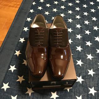 新郎☆エナメルシューズ(ローファー/革靴)