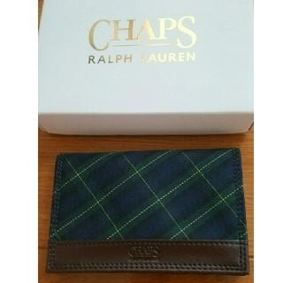 チャップス(CHAPS)のCHAPS RALPH LAUREN 名刺入れ パスケース(名刺入れ/定期入れ)