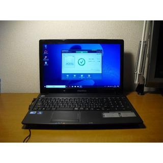 エイサー(Acer)のemachines E732-F32C ノートパソコン windows10(ノートPC)