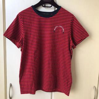 マークジェイコブス(MARC JACOBS)のMARC JACOBS 胸刺繍入りボーダーTシャツ(Tシャツ(半袖/袖なし))