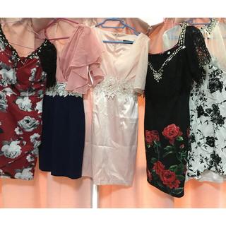 デイジーストア(dazzy store)のキャバ ドレス5着まとめ売り dazzy store(ミニドレス)