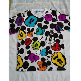 ディズニー(Disney)の💙sale💙ミッキー総柄☆半袖Tシャツ👕(Tシャツ(半袖/袖なし))