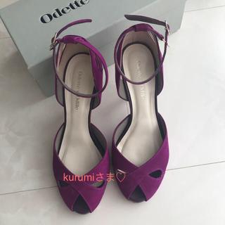 オデットエオディール(Odette e Odile)の[美品SALE] Odette e Odile ♡ デザインパンプス(ハイヒール/パンプス)