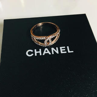 CHANEL - 新品 CHANEL ラインストーン リング ノベルティ