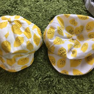 コドモビームス(こども ビームス)の韓国子供服 レモンキャップ 1-3歳 二個セット(帽子)