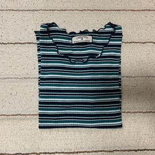 シマムラ(しまむら)のリブTシャツ(Tシャツ(半袖/袖なし))