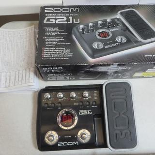ズーム(Zoom)のZOOM G2.1u(エフェクター)