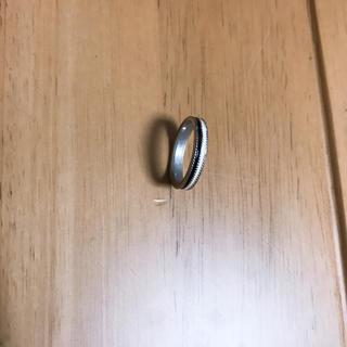 指輪 リング 黒 白(リング(指輪))