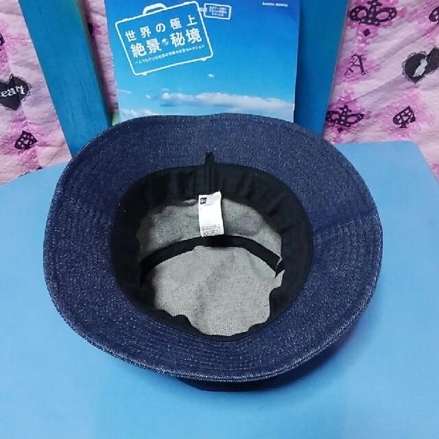 GU(ジーユー)のデニムバケットハット メンズの帽子(ハット)の商品写真