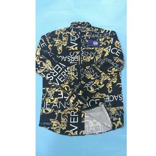 ヴェルサーチ(VERSACE)のVersace ヴェルサーチ メンズ 長Tシャツ  カジュアル お洒落(Tシャツ/カットソー(七分/長袖))