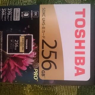 トウシバ(東芝)の東芝製 SDXU-D256G SDカード(その他)